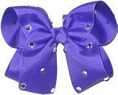 Large Delphinium Jeweled Bow