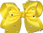 Large Maize Jeweled Bow