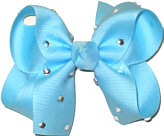 Medium Ocean Jeweled Bow