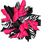 Hot Pink Black and White