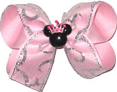 Medium Bow with Minnie Crown Pin