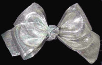 Toddler Silver Bow