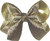 Medium Antique Gold Bow