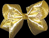 Large Gold Overlay Bow