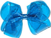 Large Blue Jelly Bow