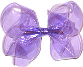 Large Light Orchid Jelly Bow