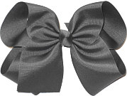 MEGA Extra Large Bow Flannel Gray