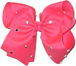 Mega Tutti Fruity with Rhinestones Jeweled Bow