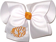 MEGA Yellow Gold and White Bow