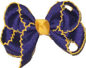 Regal Purple and Yellow Gold Moonstitch