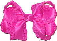 Azalea Medium Double Layer Bow
