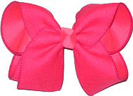 Tutti Fruiti Canvas Ribbon over Tutti Fruiti Large Double Layer Bow