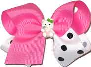 Toddler Kittie Bow Miniatures or Corkers