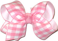 Toddler Pink and White Checks and Plaids