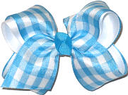 Toddler Light Blue and White Checks and Plaids