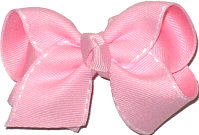 Pink with White Stitch Saddle Stitch