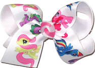 Toddler My Little Pony over White