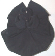 Black Crepe Snood