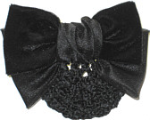 Black Velvet Snood