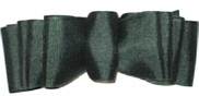 Large Evergreen Grosgrain Spectator Style Bow