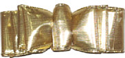 Large Metallic Gold Spectator Style Bow