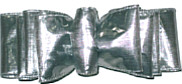 Large Metallic Silver Spectator Style Bow